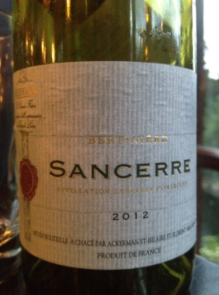 Ackerman Sancerre 2012 2006